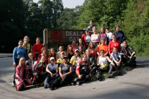 The inaugural Women's Sportbike Rally attendees.