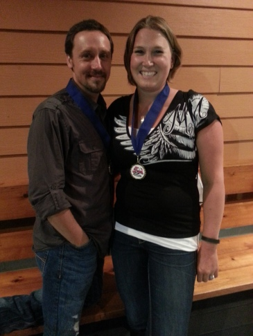 Super Rider Award went to Amanda and Aaron Hopkins of Elgin, IL. They rode from Chicago to Key West, FL then back up to the Dragon before heading home. On R1s!!! They deserve this award!