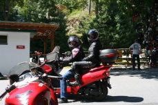 Two up on a scooter!