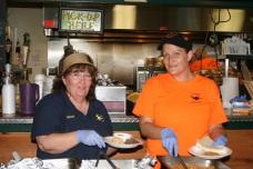 Mona and crew at Deals Gap serving up some fantastic tacos!