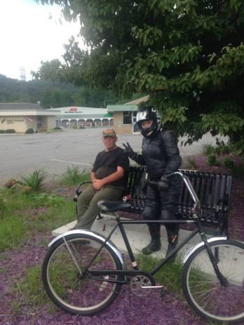 A bike(r)!