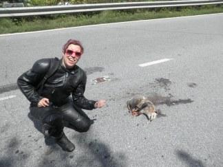 Roadkill (with cig)!