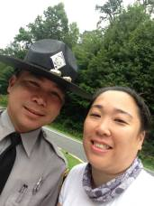 A cop!