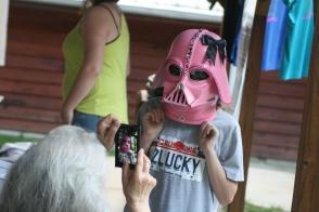 Pink Vader is a good vader!