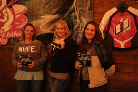 Bekki, Bonnie and Rachel picked up some excellent ROK Straps www.rokmotostraps.com