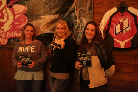 Bekki, Bonnie and Rachel picked up some excellent ROK Straps www.rokmotostraps.com