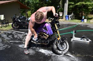 Bike Wash - Folder Cover